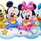 BABY MICKEY AND FRIENDS CROSS STITCH KIT