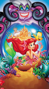 LITTLE MERMAID COLOURED CHART CROSS STITCH KIT
