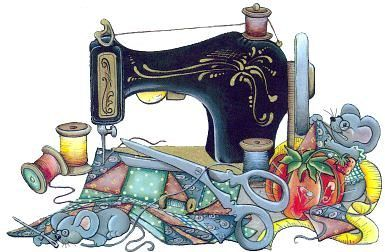 SEWING MACHINE   COLOURED CROSS STITCH KIT