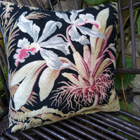 Mini French Antique Fabric Cushion