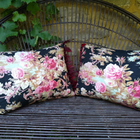 French Antique Fabric Cushion