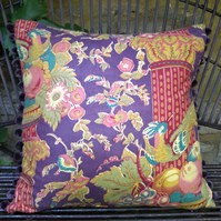French Art Deco Chintz Cushion