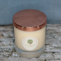 Citronella and Lemongrass Aromatherapy Candle - natural insect repellent