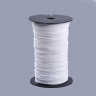 2mm wide soft white elastic - 5 Metre Cut Length (free 1st class postage to UK)