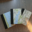 OS Map Mini Notebooks