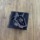 English Bull Terrier Printing Stamp Ink Block. Wax Seal. (Hand Made)