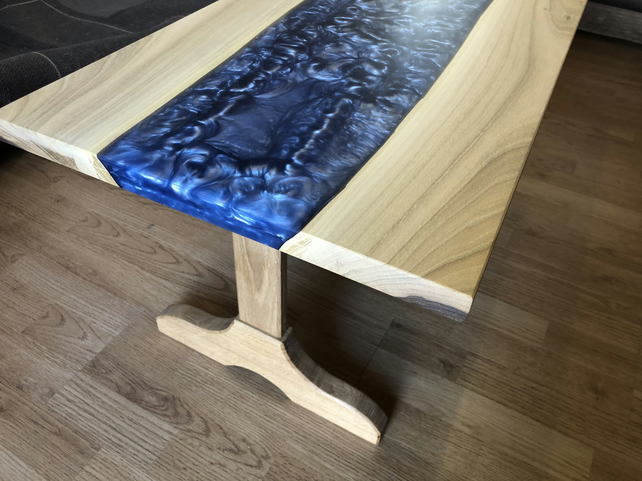 Epoxy resin coffee table