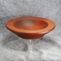 Wooden bowl made from Sapele with a food safe finish