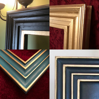 Made to measure, hand-carved picture frames