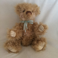 "'BUBBLES"" - A Beautiful Hand Sewn, Collectable, Artist Bear Standing 18"" Tall"