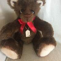 "LEXI - A Beautiful Hand Sewn, Collectable Artist Bear Standing 16"" Tall"