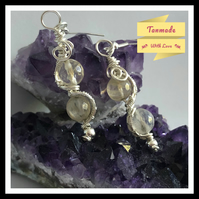 Natural Citrine Earrings