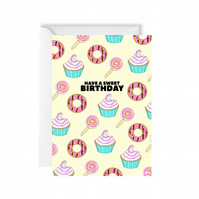 Happy Sweet Birthday Card