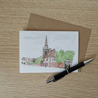 Thaxted Greetings Card