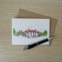 Dunmow Greetings Card