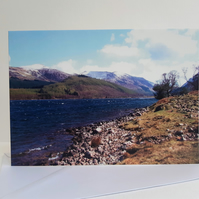 Ennerdale Water - landscape greeting card
