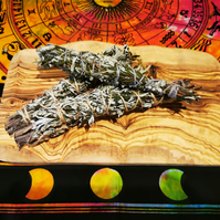 Large mugwort smoke cleansing bundle