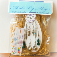 Earring Gift Set Seaside Theme