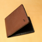 Bifold leather wallet Handmade from premium goat leather