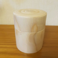 Trinket or Ring Box made from Silver Birch
