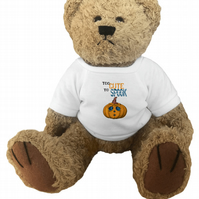 Halloween teddy bear, cute teddy, teddy for her, teddy bears for kids, too cute