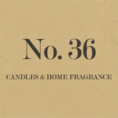 Number 36 Candles