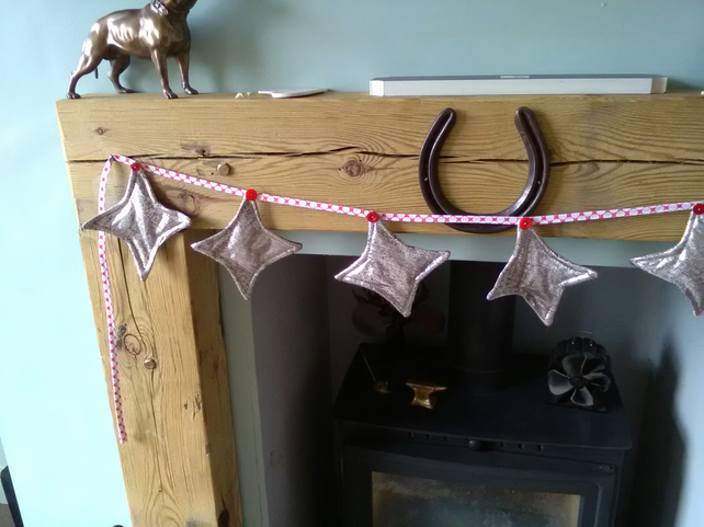 Silver Star Bunting
