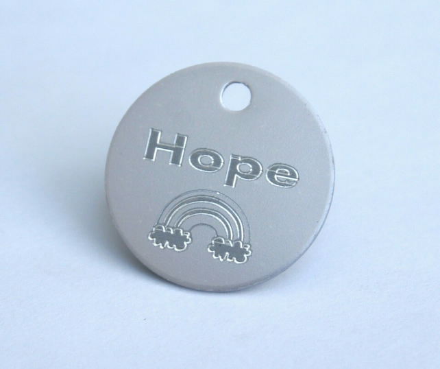 NHS charity dog tag, engraved free, a donation goes to NHS with every sale