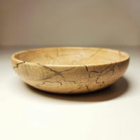 Spalted Beech Trinket Dish or Bowl - Handmade Woodturned - Free UK Delivery!