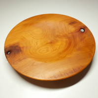 Yew Bowl, Platter or Dish - Handmade Woodturned - Free UK Delivery