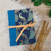 Golden Peacocks Envelope Book