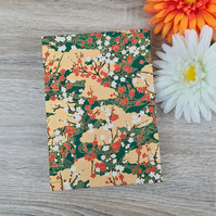 Golden Flowering Notebook