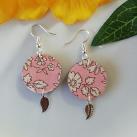 Liberty fabric earrings