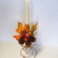 Autumn Flickering Candle Bed Spring
