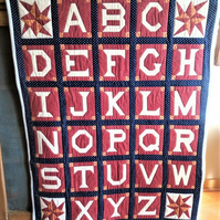Keepsake A to Z ALPHABET Quilt