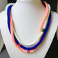 Triple crochet soft necklace