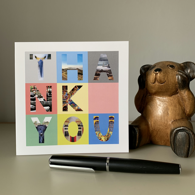 THANK YOU Still Life Blank Card