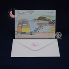 Caravan by the Sea, Blank Card