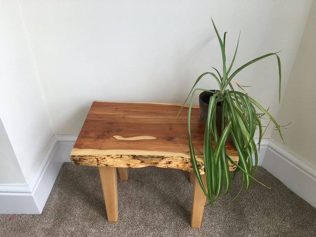 Handmade Yew Table