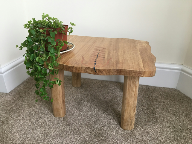 Oak Handmade Coffee Table