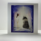 Original Shetland Sheepdog Christmas Card (Blue Merle)