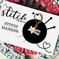 Little Shooting Star Stitch Marker