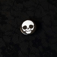 Gamer Goth Pixel Pullip Doll Skull... 25mm Button Pin Badge