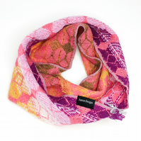 Gatsby Snood - Coral