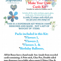 Make Your Own Cards - Flowers & Balloons