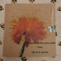 Greetings Card With A Packet Of Pot Marigold Seeds - eco gift