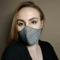Christmas Gift Face Mask with Filter Pocket 3 Layer Cotton, Adjustable, Reusable
