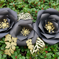 Set of 3 roses