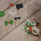Xmas Elf photo booth props set of 6