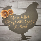 I Love Chickens wall stickers 1